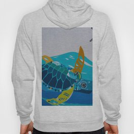 Balinese Sea Turtles Hoody