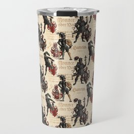 Medieval Knights in Shining Armor Travel Mug