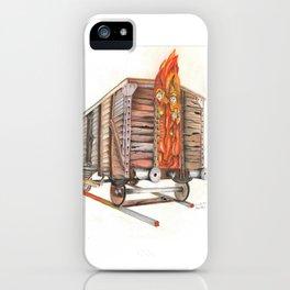 Death Traing iPhone Case