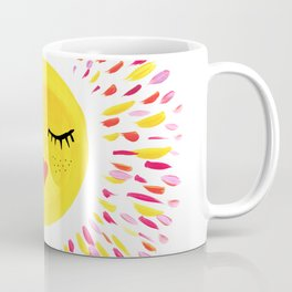 Pretty Sun Painting Coffee Mug
