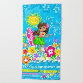 Hala beach Beach Towel