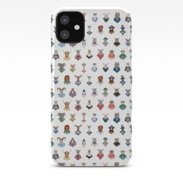 Animal Alphabet iPhone Case