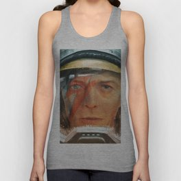 Bowie - The Man Who Fell to Earth Unisex Tank Top
