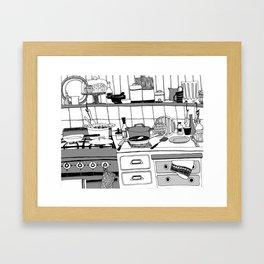 Savory Kitchen Framed Art Print