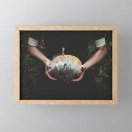 Magical Pumpkin Framed Mini Art Print