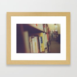 Bibliophilia Framed Art Print