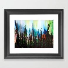 Aurora Borealis Equinox Framed Art Print