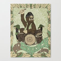 Mr. Squatch and the Stumps Canvas Print