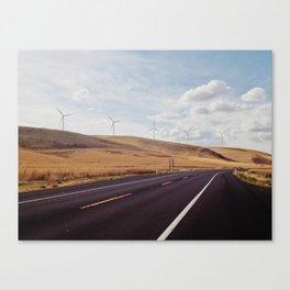 Palouse Wind Farm Canvas Print
