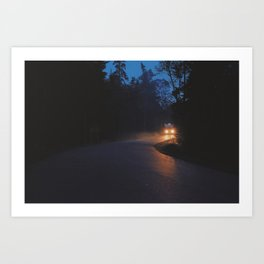 Darkness On The Edge of Town Art Print