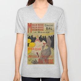 Vintage poster - Toulouse Lautrec Unisex V-Neck