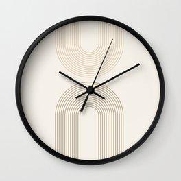 Mid-Century Modern Art no.2 Wall Clock