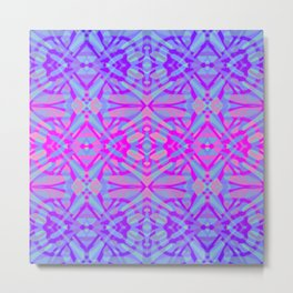 Ethnic Tribal Pattern G492 Metal Print