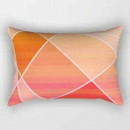 Hot Pink Blush Rectangular Pillow