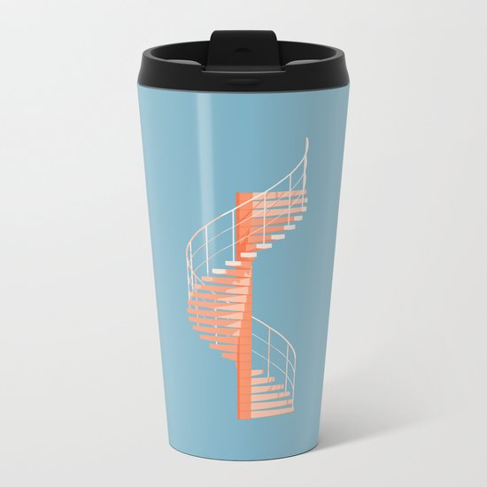 Helix Stair Metal Travel Mug