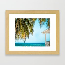Belize Breeze Framed Art Print