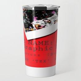 """Code Name: King""  - ALTERNATE Comic Book Promo Poster  Travel Mug"