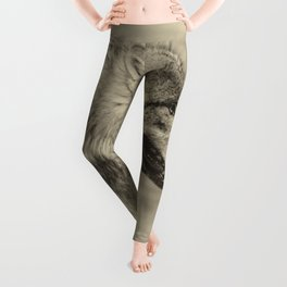 lonesome wolf Leggings