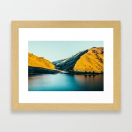 Lucky Peak Framed Art Print