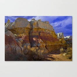 Paint Mines Canvas Print