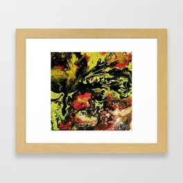 Twisted Lemon Framed Art Print