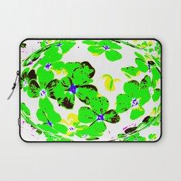Floral Easter Egg Laptop Sleeve