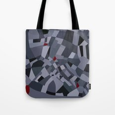 London Road Blocks Tote Bag