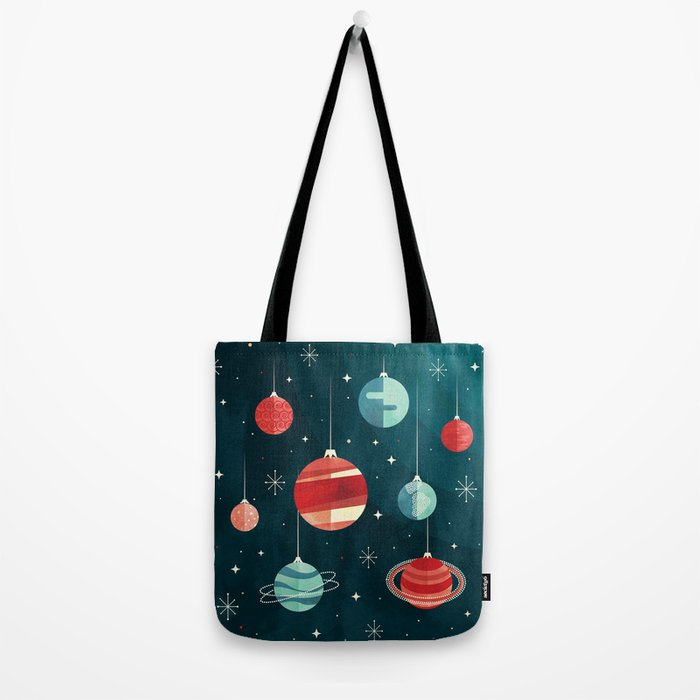 Joy to the Universe (in Teal) Tote Bag