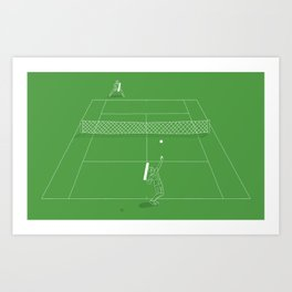 Game Point Art Print