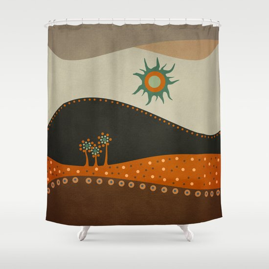 Sweet. Land. Shower Curtain