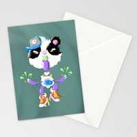 Creepy Cutie Stationery Cards