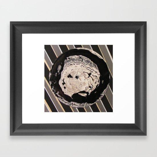 mercerism Framed Art Print