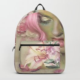 SHE WAS COMPLETELY CAPTIVATED Backpack