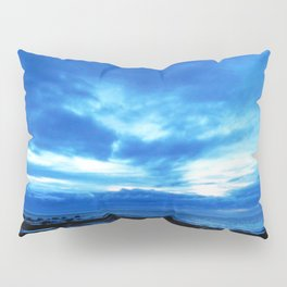 Arm from Above Plays with the Sunset Pillow Sham