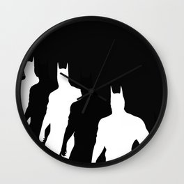 The Bat Hidden Profile Wall Clock