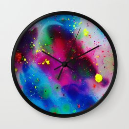 The Art of Reaction///Bright Wall Clock