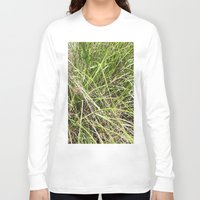 grass Long Sleeve T-shirts featuring GRASS by JANUARY FROST