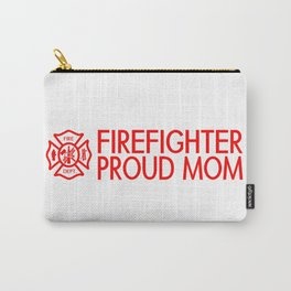 Firefighter: Proud Mom (Florian Cross) Carry-All Pouch