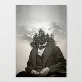 Head in the clouds II Canvas Print