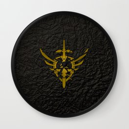 ZELDA SHIELD Wall Clock