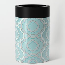 Abstract Lace Can Cooler