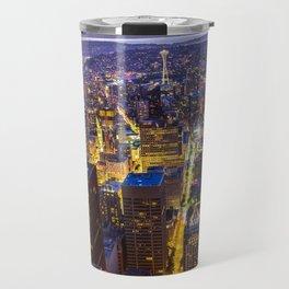 Downtown Seattle Travel Mug