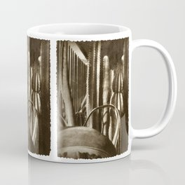 Cactus Garden Antiqued Coffee Mug