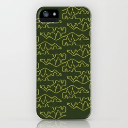 Rural Urban Pattern iPhone Case