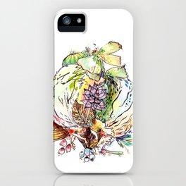 Hedgehog Effect iPhone Case