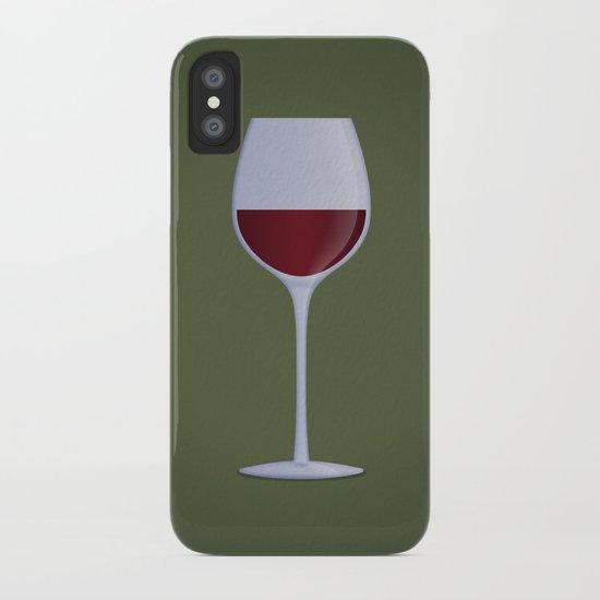 Red Wine iPhone Case
