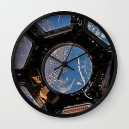 ISS Cupola module - South Africa Wall Clock