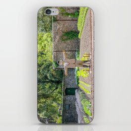 The Lost Gardens of Heligan - Diggory the Scarecrow on Guard iPhone Skin