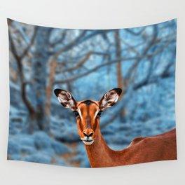 Impala Winterland Wall Tapestry
