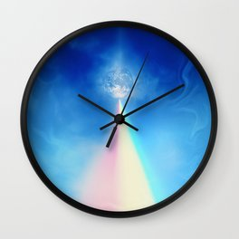 Journey to The End of The Rainbow Wall Clock